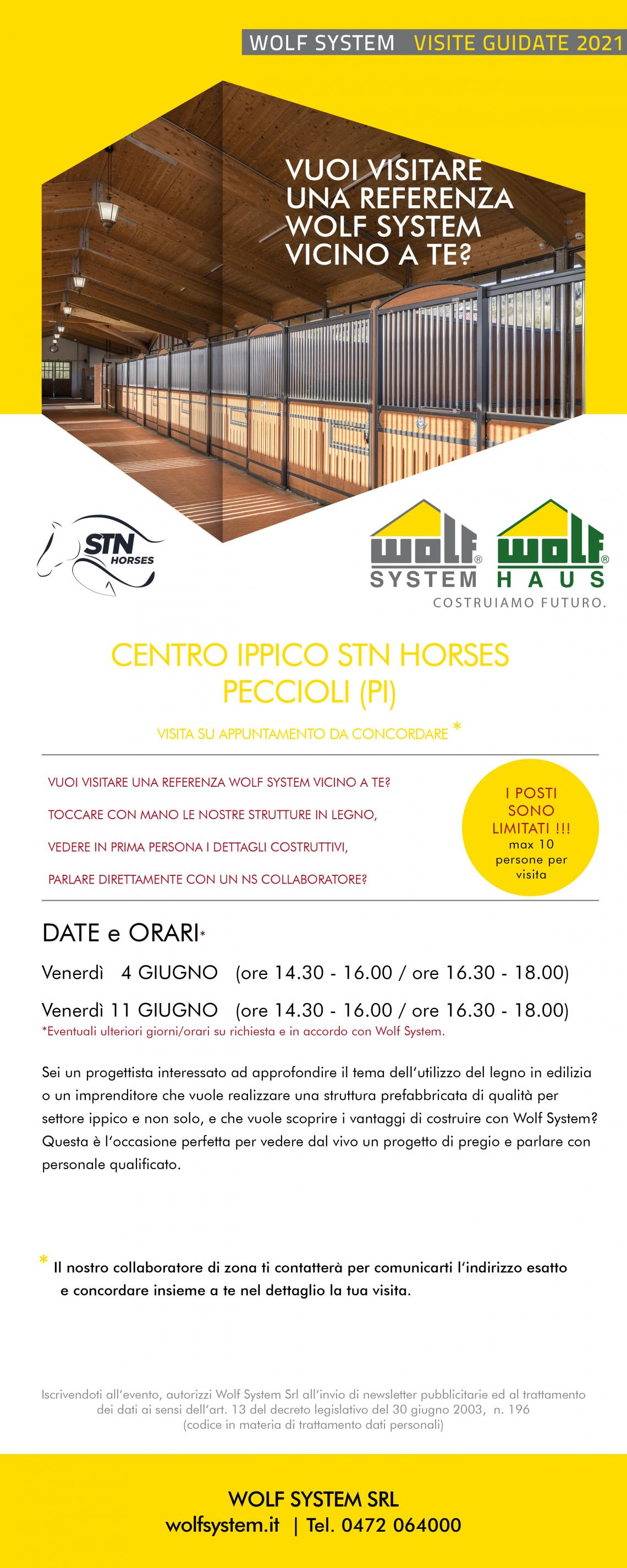 STN Horses -  centro ippico - Wolf system visite 2021